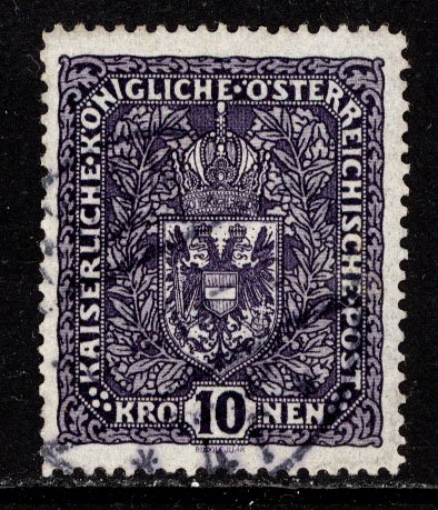 Austria 1916  Scott #163 used (CV 52.50)