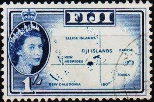 Fiji. 1954 1s S.G.306 Fine Used