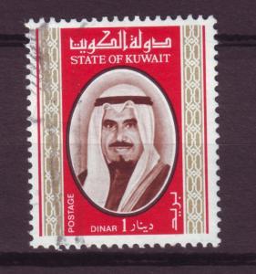 J10450 JL stamps @20%cv 1978 kuwait used #762 sheik