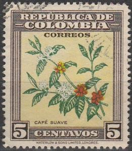 Colombia #545 F-VF Used (S4463)