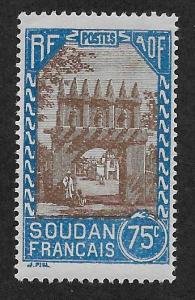 FRENCH SUDAN SC# 81  FVF/MOG  1931