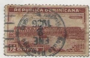 DOMINICAN REPUBLIC SC #  292  USED