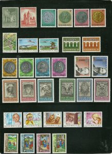 Luxembourg - 10 Different Mint Sets - Over $40 Scott Catalog Value  #1