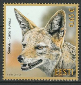 Estonia 2018 Fauna, Animals MNH Stamp