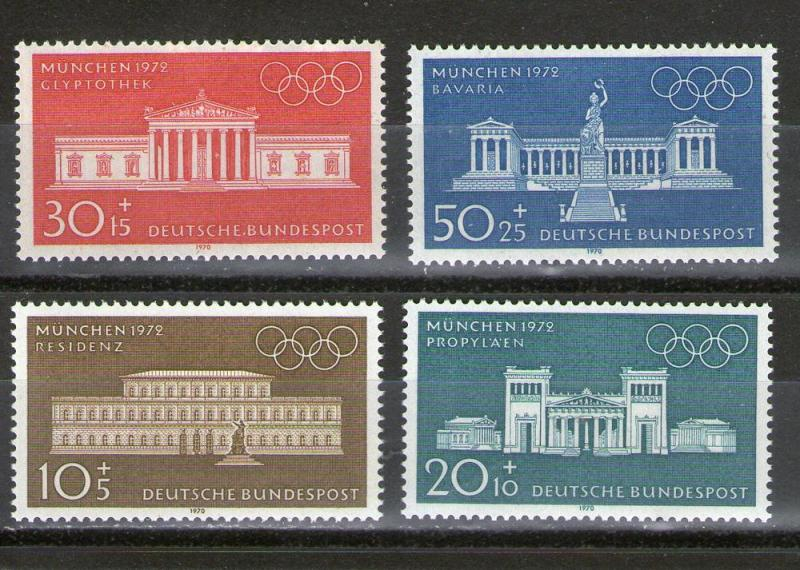 Germany B459-B462 MNH