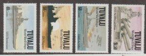 Tuvalu Scott #578-581 Stamps - Mint NH Set