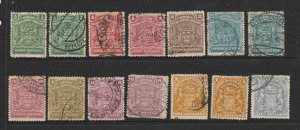 Rhodesia a small used lot from the 1898 series
