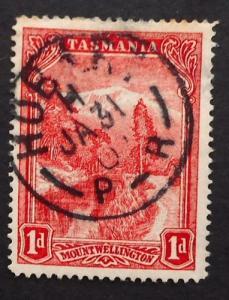 Australia, Tasmania, Scott 87, Used, Hobart Cancel