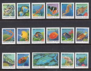 MARSHALL ISLANDS SCOTT 168-184