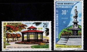 New Caledonia (NCE) Scott 418-419 MNH** Old Noum'ea set