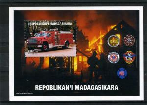 Fire Engines s/s Perforated Mint (NH)