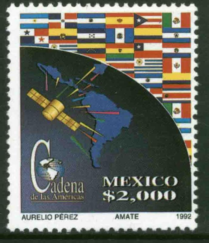 MEXICO 1760 Communications System of the Americas MNH