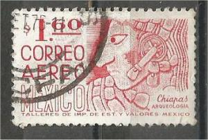 MEXICO, 1975, used 1.60p, Chiapas,, Scott C446
