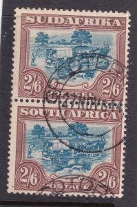 South Africa an early Roto 2/6 pair used