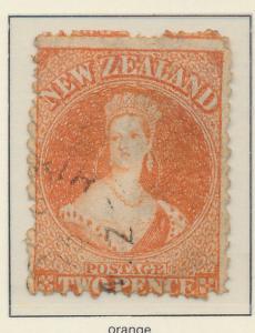 New Zealand Stamp Scott #40, Used - Free U.S. Shipping, Free Worldwide Shippi...