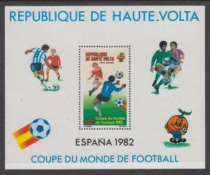 Burkina Faso C272 Soccer Souvenir Sheet MNH VF