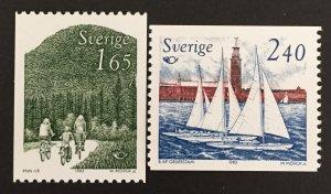 Sweden 1983 #1454-5, MNH.