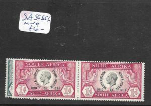 SOUTH AFRICA (P1801B) KGV SILVER JUBILEE SG 65-6  MOG