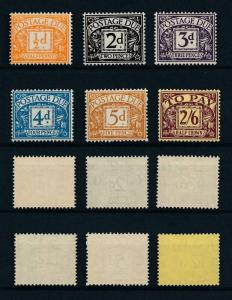 [97829] Great Britain 1954-1955 Postage Due wmk Mult Tudor Crown E2R  MNH