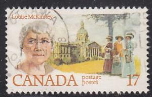 Canada 880 Louise McKinney 1981