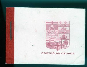 Canada Booklet Unitrade BK5d in French, Red Binding