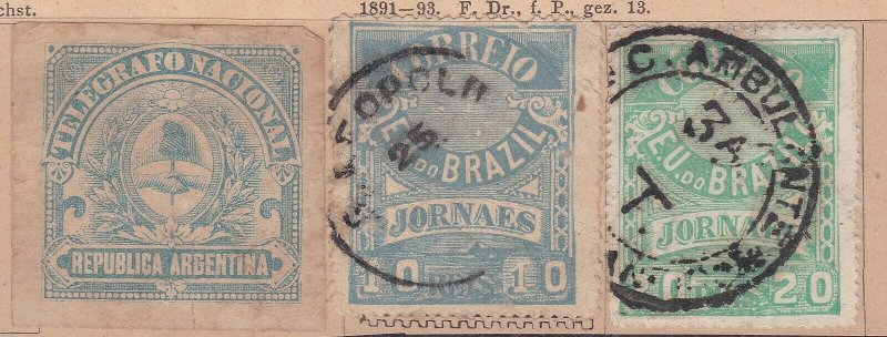 BRAZIL ^^^^BOB   used   NEWSPAPER CLASSICS  $$@ dcc186bza