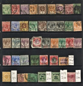 STAMP STATION PERTH Straits Settlements #42 Used Selection - Unchecked