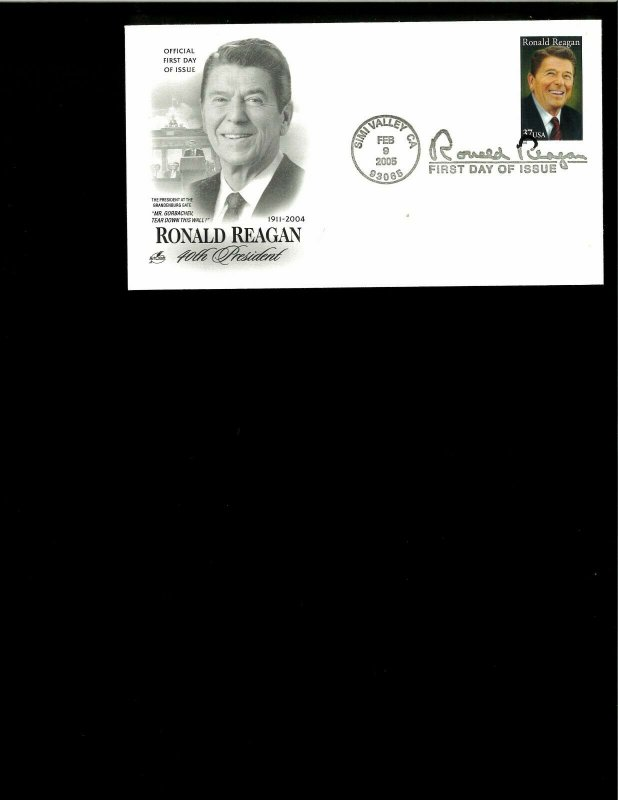 2005 FDC Ronald Reagan Simi Valley CA