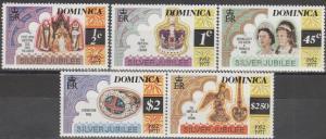 Dominica #521-5  MNH F-VF (SU635L)