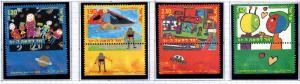 ISRAEL Scott 1389-1392 MNH** stamp set with tabs