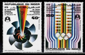 Niger Scott C288-C289 MNH** Airmail  set