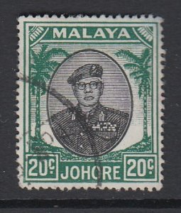 MALAYA (JOHORE), Scott 141, used