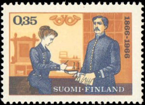1966 Finland #439, Complete Set, Never Hinged