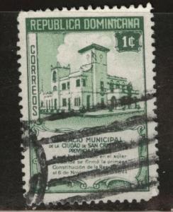 Dominican Republic Scott 413 used 1945 stamp