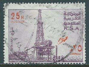 Saudi Arabia, Sc #735, 25h Used