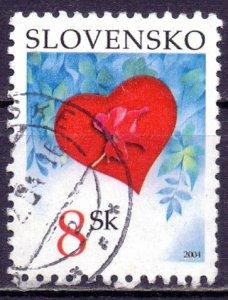 Slovakia. 2004. 477. St. Valentine's Day. USED.