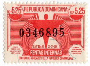 (I.B) Dominican Republic Revenue : Internal Tax $3.25