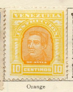 Venezuela 1911 Early Issue Fine Mint Hinged 10c. NW-114551