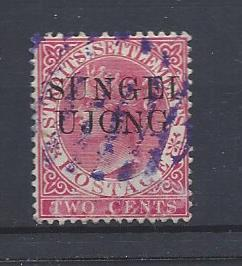 Malaya (Sungei Ujong), 25, Overprinted Single,**Used**