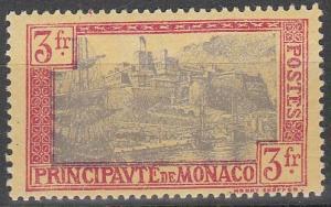 Monaco #90  F-VF Unused  CV $25.00  (S8177)