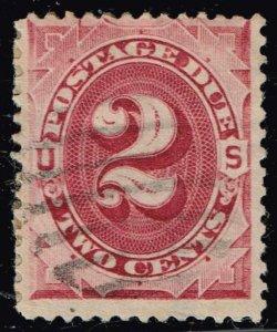 US STAMP #J23 – 1891 2c Postage Due Stamp Used $2