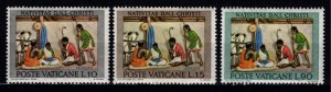 Vatican City 1962 Christmas, Set [Unused]