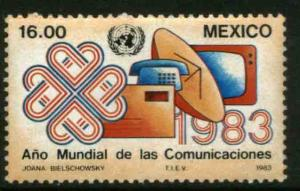 MEXICO 1310 World Communications Year MNH. VF.