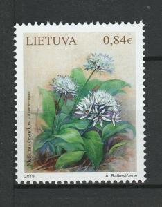 Lithuania 2019 Flora Flowers Plants MNH stamp