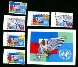 Haiti Stamps # 866-72 VF OG NH Catalog Value $30.25