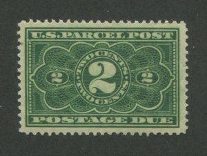 1913 United States Parcel Post Postage Due Stamp #JQ2 Mint Never Hinged VF OG