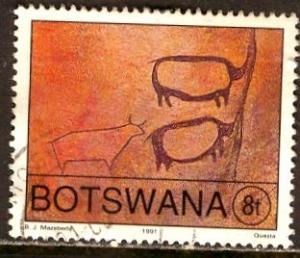 Botswana; 1991: Sc. # 480: O/Used Single Stamp