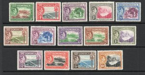 Dominica - SG# 99 - 108 MH (few h rems) -  Lot 0619141