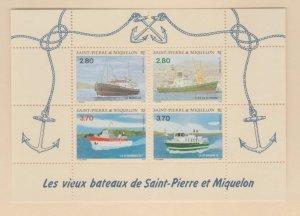 St. Pierre & Miquelon Scott #604 Stamps - Mint NH Souvenir Sheet