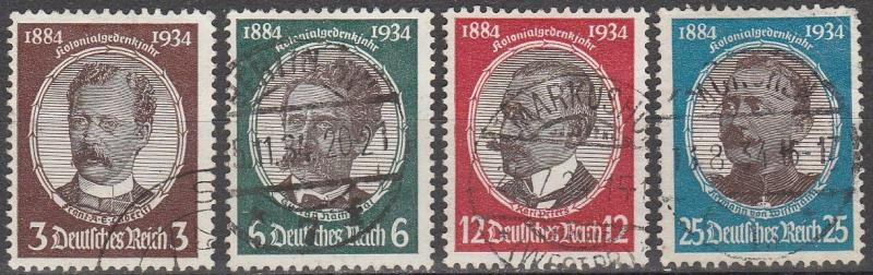 Germany #432-5 F-VF Used CV $29.70 (A12934)